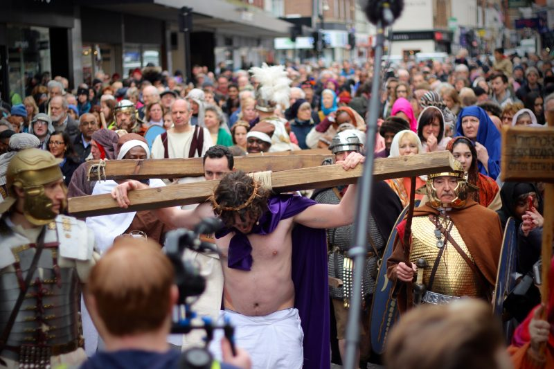 Sputnik Faith and Arts The First Bedford Passion Play in over 30 years