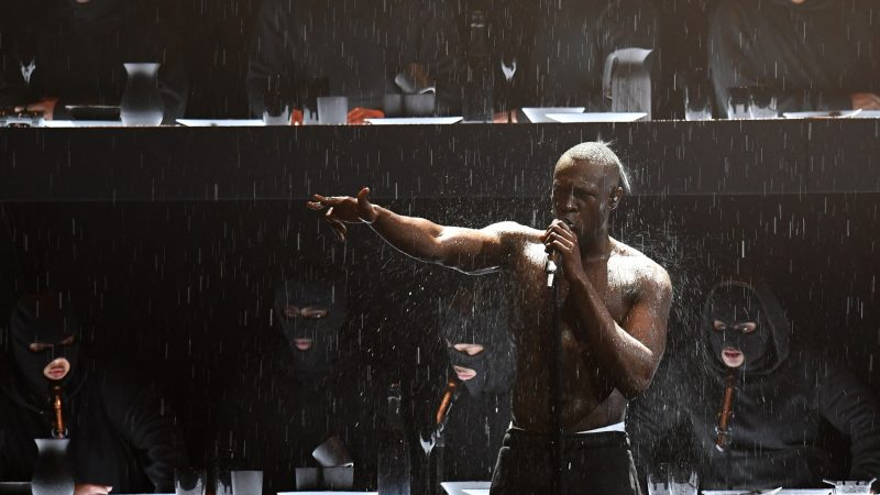 Sputnik Faith and Arts Stormzy uses BRIT Award performance to call out Theresa May