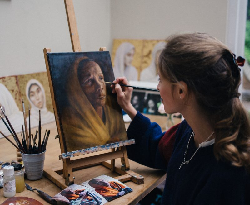 Sputnik Faith and Arts Interview: Hannah Rose Thomas's stunning portraits demonstrate art as advocacy