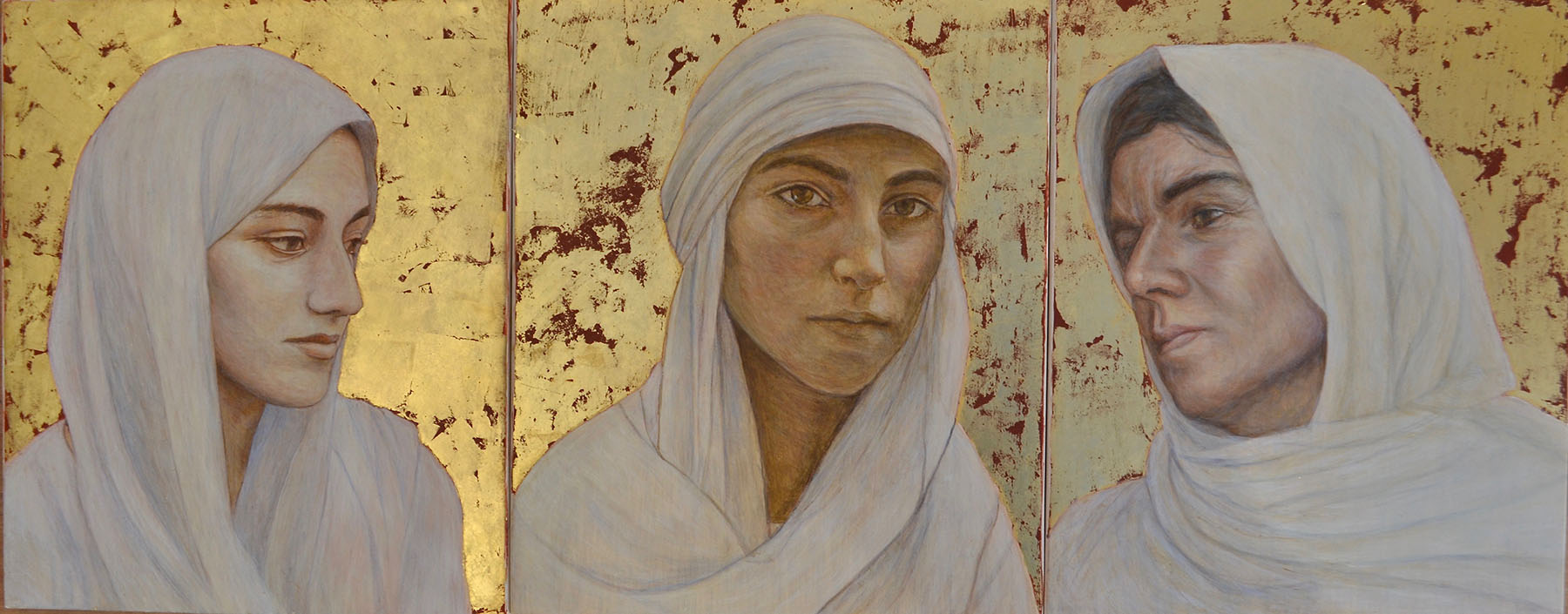 Hannah Rose Thomas Yezidi Women: ISIS Survivors Art Sputnik Faith