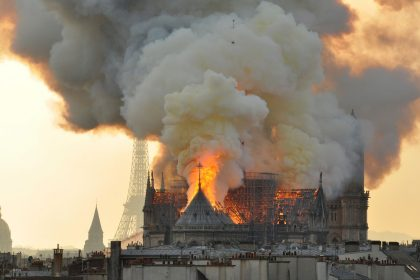 Sputnik Faith and Arts The Notre Dame fire: How precious should we be about things we've made?